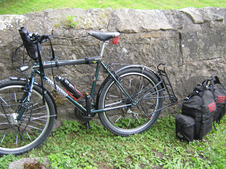 Pannier rack broken off