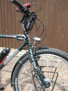 The Reecharge mounted on my bike