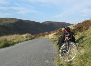 At the top of the Cwm Hirnant pass