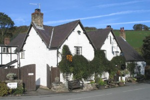 The West Arms Inn, Llanarmon DC